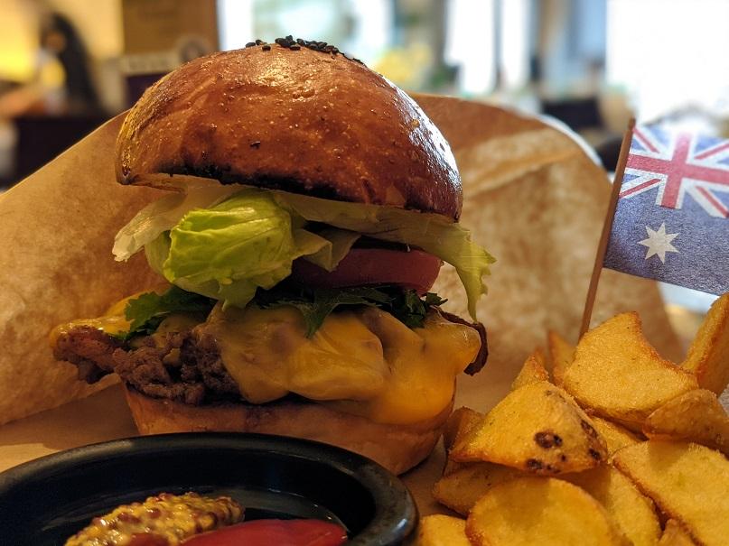 wattle tokyo hamburger ワトルトーキョー 東京 ハンバーガー バンクシア オーストラリア オージー 新丸ビル 丸の内