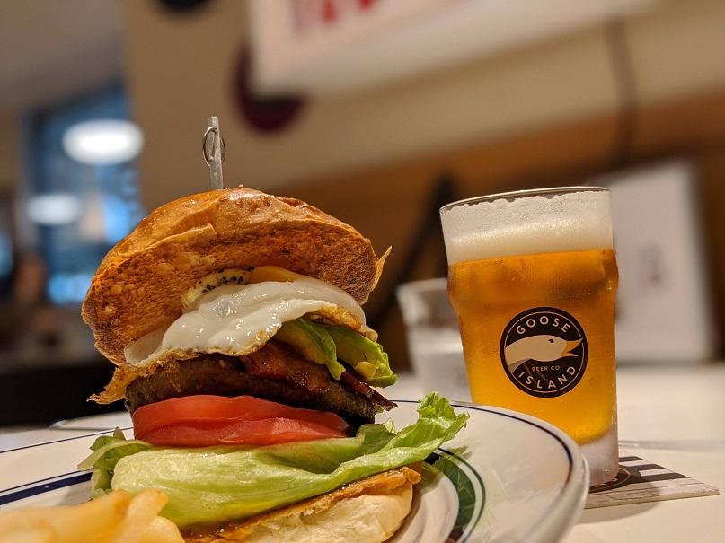 BEAT DINER ビートダイナー ハンバーガー グランスタ ランチ ディナー 駅ナカ 改札内